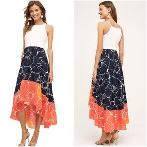 Peachy High-Low Dress